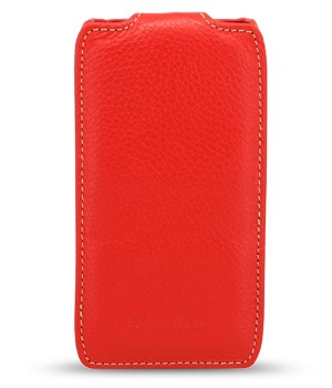 Чехол Melkco Leather Case для Samsung Galaxy Trend s7390 Red