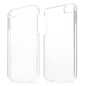 Накладка Capdase Finne DS для Iphone 5/5S Transparent/White