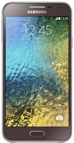 Samsung E500H/DS Galaxy E5 Dual Sim Brown