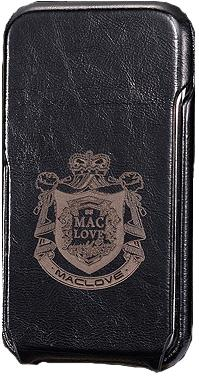 MacLove Leather Case Code 7-7 Wine Red for iPhone 4 / 4S