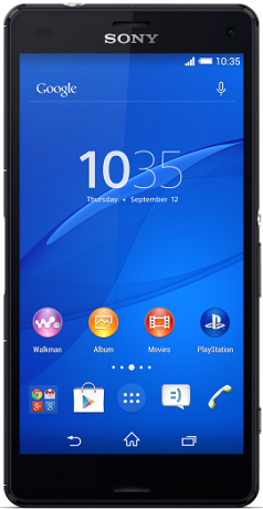 Sony Xperia Z3 Compact D5833 LTE Black