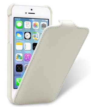 Чехол Melkco Leather Case for Apple iPhone 5C Jacka Type White LC