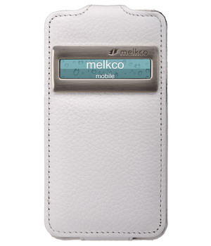 Чехол Melkco Leather Case for Apple iPhone 5 Jacka ID Type (White LC)