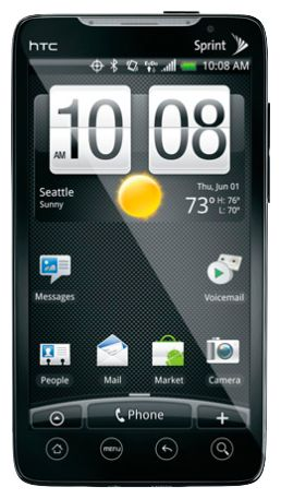 HTC EVO 4G Desing Black