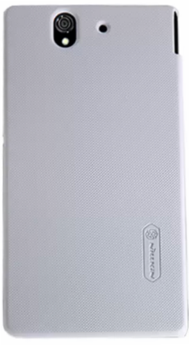 Чехол Nillkin Super Frosted Shield для Sony Xperia Z White