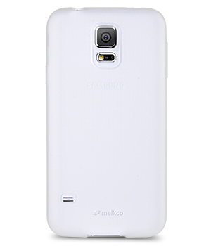 Накладка на заднюю часть Melkco Poly Jacket TPU Case для Samsung Galaxy S5 G900f Transparent Mat