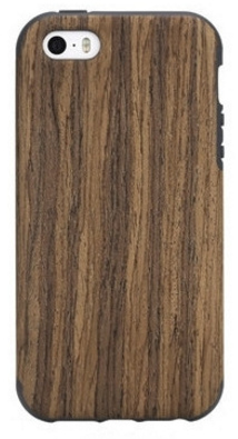 Накладка Rock Origin Series Grained для Iphone 5/5S/SE Rosewood