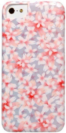 Накладка iCover для iPhone 5C Flowers F06 IPM-DEM-F06