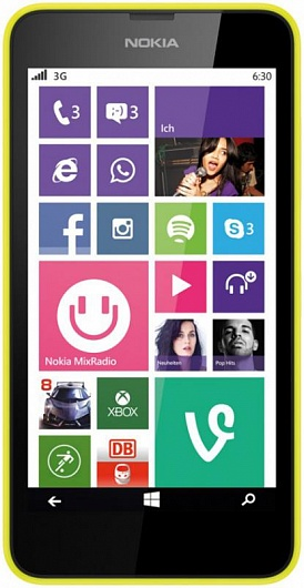 Nokia Lumia 635 LTE Yellow РСТ