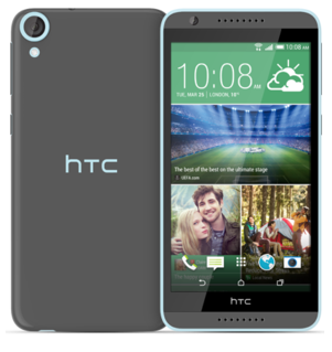 HTC Desire 820S Dual Sim Grey Blue