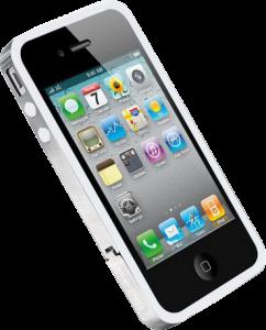 Ringke STEEL quot; quot; для Apple iPhone 4/4S с металлическим хомутом White