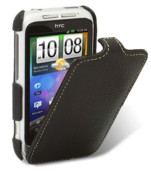 Чехол Melkco Leather Case for HTC Wildfire S Jacka Type (Black LC)