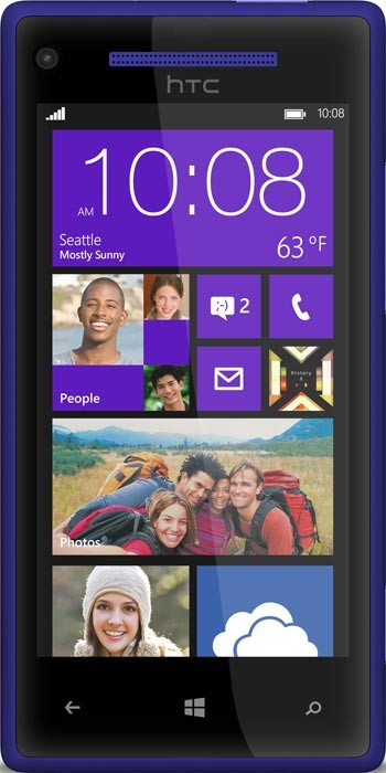 HTC Windows Phone 8x C620e Blue