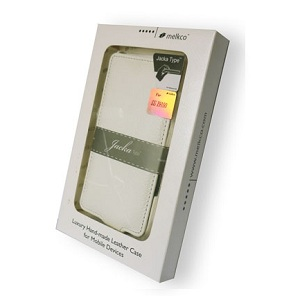 Чехол Melkco Leather Case для Samsung N7000 Galaxy Note Jacka Type White LC