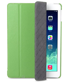 Melkco Premium Leather case for Apple iPad Air Green