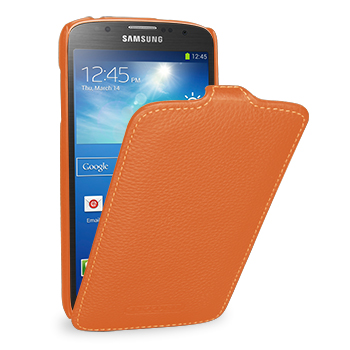 Чехол TETDED Premium Leather Case для Samsung Galaxy S4 / IV / I9500 / I9505 / Active I9295 i537 Troyes Orange