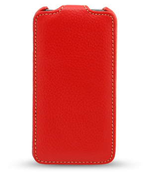 Чехол Melkco Leather Case для HTC One Mini M4 Jacka Type Red LC