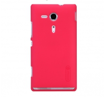 Чехол Nillkin Super Frosted Shield для Sony Xperia SP Red