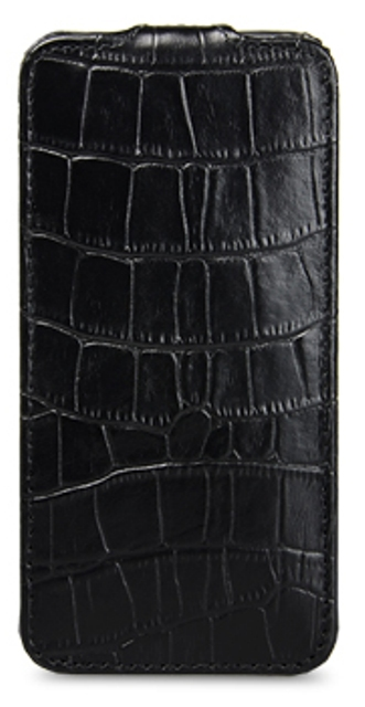 Чехол Melkco Leather Case for Apple iPhone 5 Crocodile Black