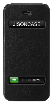 Чехол JISONCASE Vintage Series для iPhone 5/5S Black
