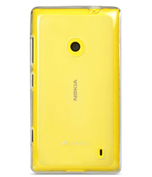 Накладка на заднюю часть Melkco Poly Jacket TPU Case для Nokia Lumia 520 Transparent Mat