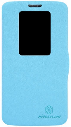 Чехол Nillkin Fresh series leather case  для LG Optimus G2 D802 Blue