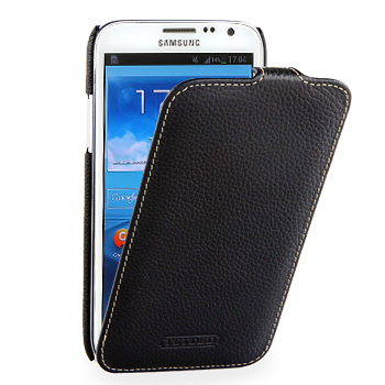 Чехол TETDED Premium Leather Case для Samsung Galaxy Note 2 N7100 / N7108 Troyes Black
