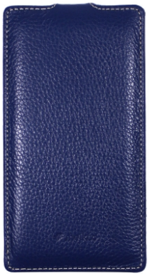 Чехол Melkco Leather Case for Sony Xperia T2 Ultra Dual D5322 Dark Blue