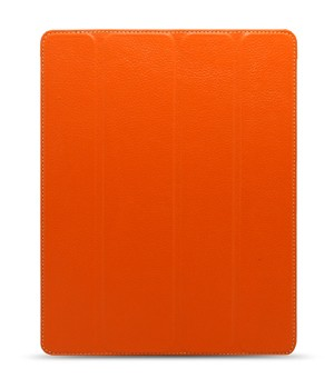 Чехол Melkco Leather case for Apple iPad 2 / 3 / 4 - Slimme Cover Type (Orange LC) with sleep mode function