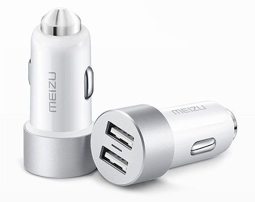 Meizu Dual Port 2USB 3,4A White