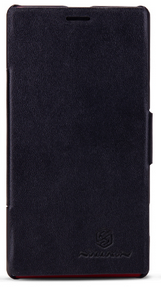 Чехол Nillkin V - series Leather Case  для Sony Xperia L Black