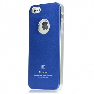 Чехол Power Support Air Jacket for iPhone 5 / 5S Blue