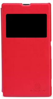 Чехол Nillkin V Series Leather Case  для Sony Xperia Z1 Red