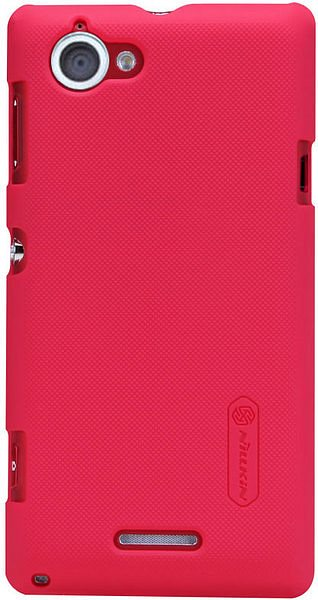 Чехол Nillkin Super Frosted Shield для Sony Xperia L Red