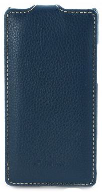 Чехол Melkco Leather Case для HTC Windows Phone 8X Jacka Type Dark Blue LC