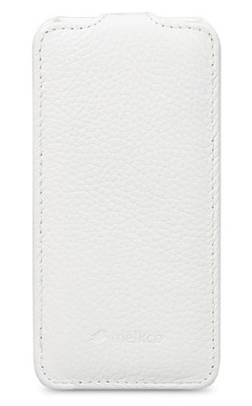 Чехол Melkco Leather Case for Sony Xperia ZR Jacka Type (White LC)