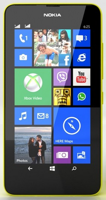 Nokia Lumia 630 Yellow РСТ