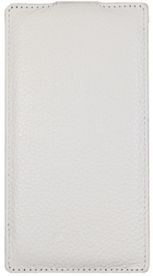 Чехол Melkco Leather Case for Sony Xperia Z3 D6603/D6633 White