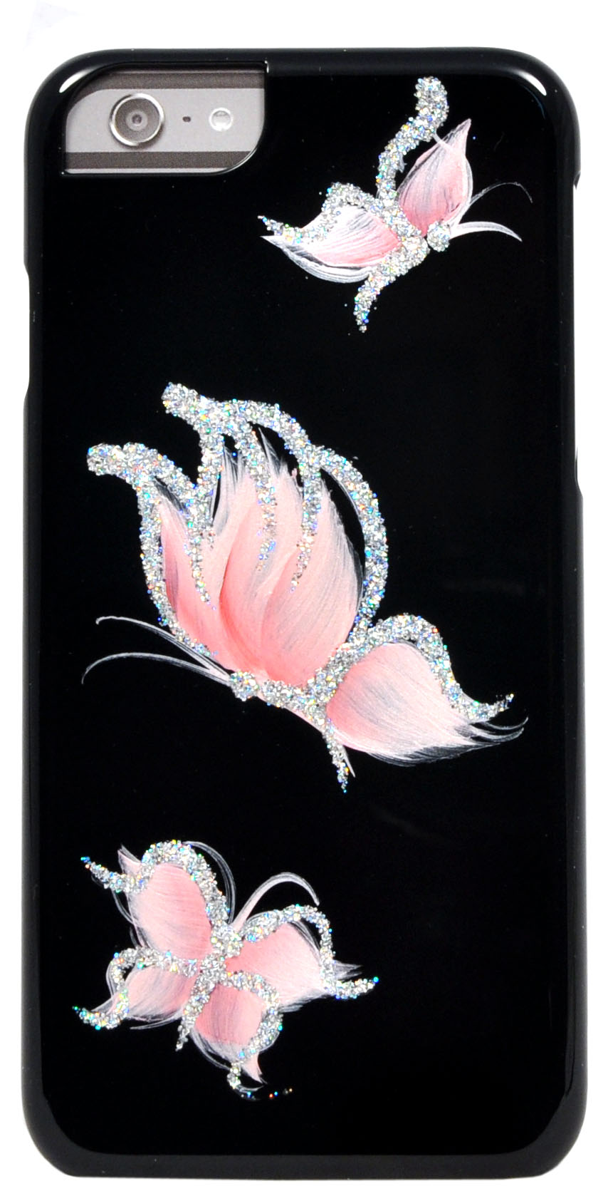 iCover для iPhone 6 4.7 Pure Butterfly Black/Pink