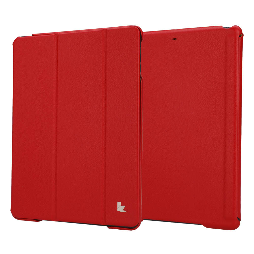 JisonCase Smart Leather Case Premium Edition для IPad Air Red