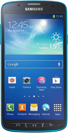 Samsung I9295 Galaxy S4 Active 4G LTE 16Gb Blue
