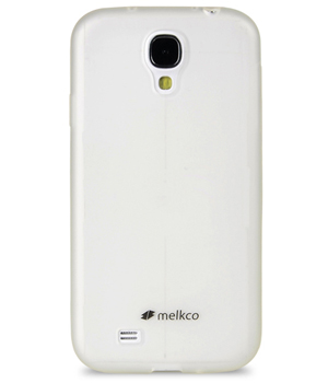 Накладка на заднюю часть Melkco Poly Jacket TPU Case для Samsung Galaxy S4 I9500 / I9505 Transparent Mat