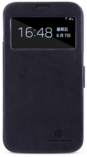 Чехол Nillkin V-series Leather Case для Samsung Galaxy Mega 6.3 i9200 Black