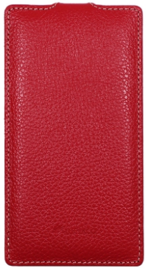 Чехол Melkco Leather Case for Sony Xperia T2 Ultra Dual D5322 Red