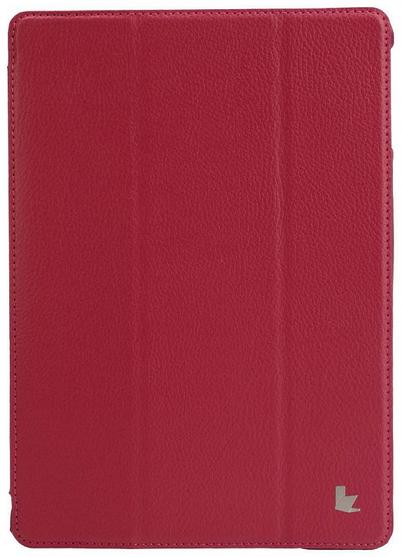 JisonCase Smart Leather Case для IPad Air Magenta