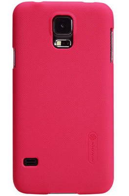 Чехол Nillkin Super Frosted Shield для Samsung Galaxy S5 mini G800 Red