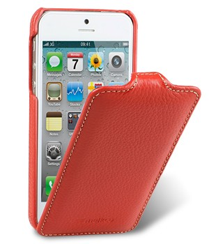 Чехол Melkco Leather Case for Apple iPhone 5 - Jacka Type Red