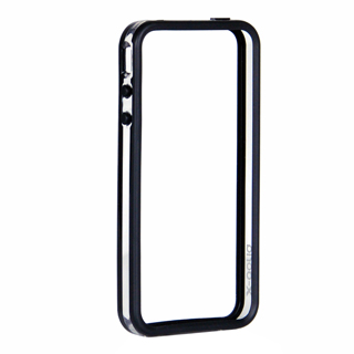 Бампер X-DORIA Dual color bumper  for iphone 4 Clear&Black