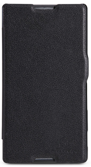 Чехол Nillkin Fresh Series Leather Case  для Sony Xperia C Black