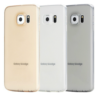 Rock Ultrathin Slim Jacked для Samsung Galaxy S6 Edge G925 Transparent-Black